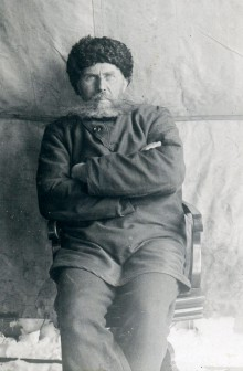 Otto Sverdrup during one of his Russian adventures