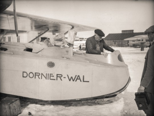 The N24/N25 flight towards the North Pole (1925) - FramMuseum no