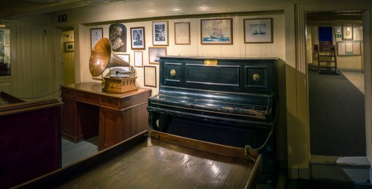 The piano from the 2nd Fram expedition