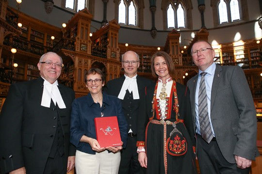 Amundsen's personal diary from the Northwest Passage launched in the Canadian Parliament