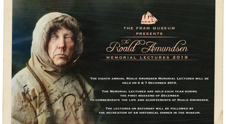 Roald Amundsen Memorial Lectures 2019