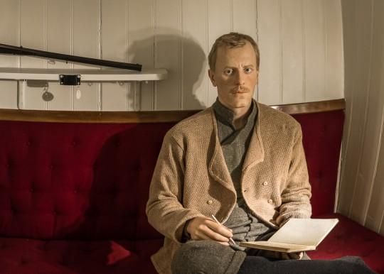 Nansen is back in his cabin